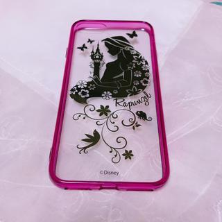 ディズニー(Disney)の美品   ラプンツェル*iPhoneケース(iPhoneケース)