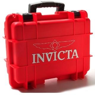 インビクタ(INVICTA)のインビクタ◆8スロット◆ ダイブケース ◆レッド◆インヴィクタ◆(腕時計(アナログ))