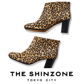 シンゾーン(Shinzone)の美品☺︎THE SHINZONE☺︎レオパードブーティー ¥42,120(ブーティ)