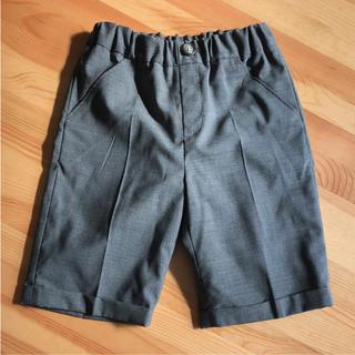 ユナイテッドアローズ(UNITED ARROWS)の美品 ユナイテッドアローズ フォーマルスーツハーフパンツ 男の子 130 135(ドレス/フォーマル)
