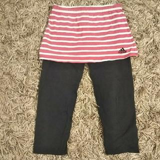 アディダス(adidas)のアディダス 女児 ランニングパンツ 140㎝(パンツ/スパッツ)