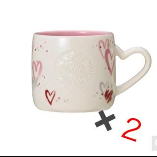 Starbucks Coffee - スターバックス  バレンタイン マグカップ