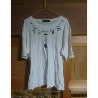 UNDERCOVER - アンダーカバー  ダメージ加工フェイクTシャツ