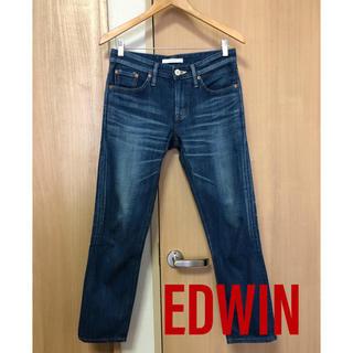 エドウィン(EDWIN)のEDWIN ボーイフレンド アンクル デニム/レディース ジーンズ(デニム/ジーンズ)