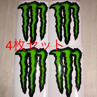 モンスターエナジー 4枚セット(ステッカー(シール))