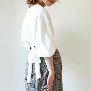 トゥデイフル(TODAYFUL)のtodayful★バックリボンT(Tシャツ(長袖/七分))