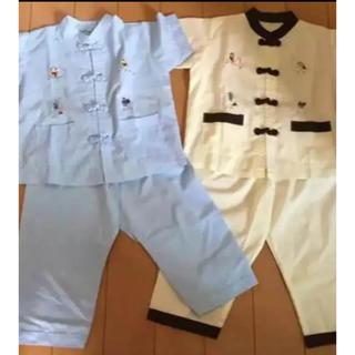 ☆ベトナム子供服 民族衣装 お土産 2枚セット未使用品☆(パジャマ)