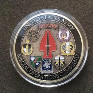 米軍 陸軍 特殊部隊 7部隊 記念 ミリタリー チャレンジコイン(その他)