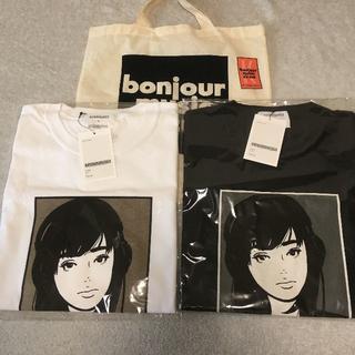 ソフネット(SOPHNET.)のKIYONAGA&CO KYNE tee T シャツ XL ボンジュール(Tシャツ/カットソー(半袖/袖なし))