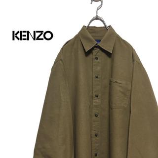 ケンゾー(KENZO)のKENZO / KENZO JEANS ケンゾー 90s コットン シャツ(シャツ)