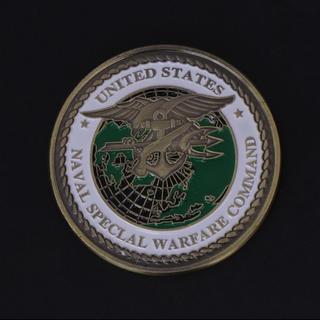 米海軍 特殊部隊 NAVYSEALs 記念 ミリタリー チャレンジコイン(その他)