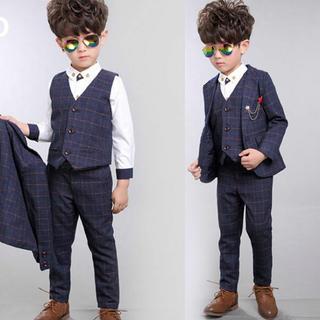 キッズ フォーマル スーツ スリーピース & シャツ(ドレス/フォーマル)