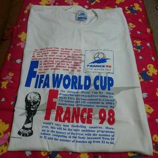 フランス98 ワールドカップ⚽杯記念 Tシャツ  (記念品/関連グッズ)