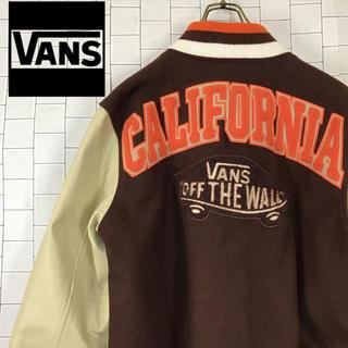 ヴァンズ(VANS)の90s VANS バンズ スタジャン 刺繍 フェルト 合成皮革 ワッペン(スタジャン)