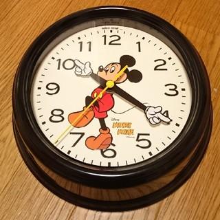 ディズニー(Disney)のニコアンド ミッキー コラボ 限定 完売 掛け時計 (掛時計/柱時計)