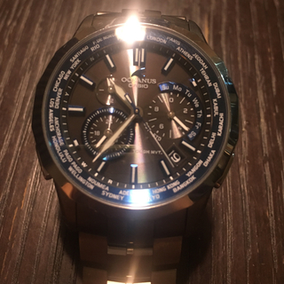 カシオ(CASIO)のCASIO メンズ 腕時計 オシアナス ocw-s1400 カシオ ソーラー(腕時計(アナログ))