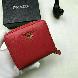 PRADA - プラダ 人気小銭入れあり 二つ折り財布