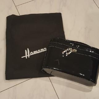 ハマノヒカクコウゲイ(濱野皮革工藝/HAMANO)の新品未使用ハマノHAMANOエナメルポーチ(ポーチ)