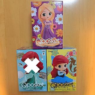 ディズニー(Disney)のQposket フィギュア アリエル ラプンツェル セット(フィギュア)