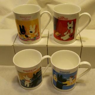 ニッコー(NIKKO)の【未使用品】リサとガスパール マグカップ(4個セット)(マグカップ)