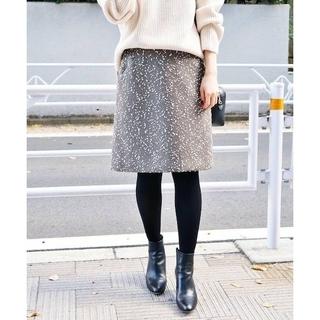 IENA - 【新品タグ付き】IENA ラメボンボン台形スカート