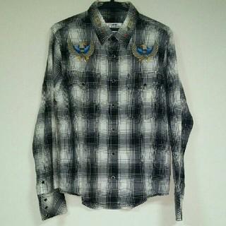 ネイバーフッド(NEIGHBORHOOD)のCHALLENGER チャレンジャー チェックシャツ イーグル刺繍(シャツ)