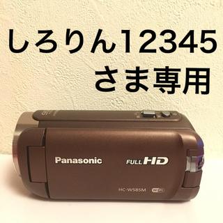 パナソニック(Panasonic)のPanasonic HC-W585Mブラウン(ビデオカメラ)