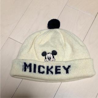 ディズニー(Disney)のミッキーニット帽(帽子)