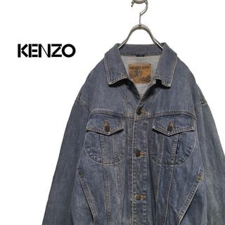 ケンゾー(KENZO)のKENZO / KENZO JEANS 90s デニムジャケット(Gジャン/デニムジャケット)