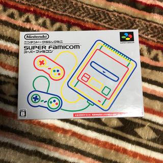 スーパーファミコン(スーパーファミコン)のニンテンドークラシックミニ スーパーファミコン(家庭用ゲーム本体)