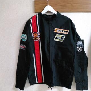 ナイトロ(NITRO)のエロシテイポップのレーシングジャケット(ナイロンジャケット)