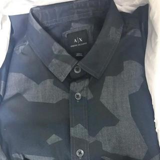 アルマーニエクスチェンジ(ARMANI EXCHANGE)のAXアルマーニ エクスチェンジ カモフラージュ柄 シャツ(シャツ)