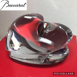 バカラ(Baccarat)のBaccarat  ZINZIN バカラ ペーパーウェイト ザンザンハート(置物)