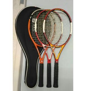 ウィルソン(wilson)の⑧ とりあえずはじめるウィルソン Wilson テニスラケット 3本 セット(ラケット)
