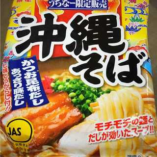 【沖縄限定】沖縄そば インスタント 明星 4食セット(麺類)
