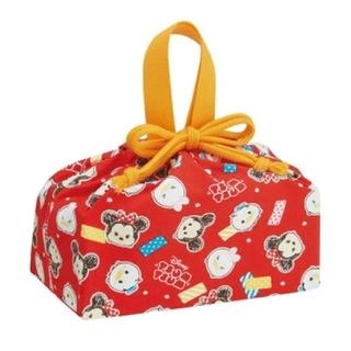 ディズニー(Disney)の新品 ツムツム ランチ巾着 ランチボックス 弁当袋(ランチボックス巾着)