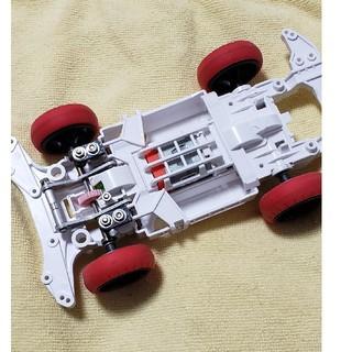 ミニ四駆 msシャーシ フロントサスペンション改造品(模型/プラモデル)