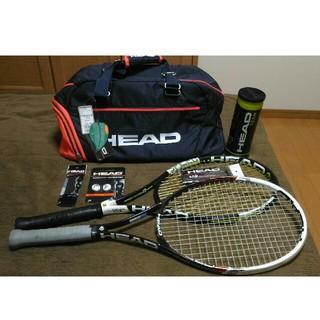 ヘッド(HEAD)の[②とりあえずはじめるテニスセット(ジョコビッチ使用ラケットスピードシリーズ)(ラケット)