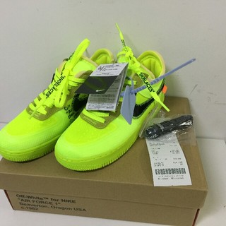 NIKE - NIKE AIR FORCE 1 LOW ×OFF WHITE 25.5cm