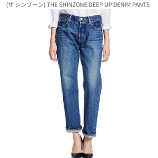 シンゾーン(Shinzone)のTHE SHINZONE デニム 38 ボタンフライ(デニム/ジーンズ)