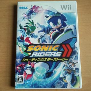 ウィー(Wii)のWii ソニックライダーズ シューティングスターストーリー セガ レース(家庭用ゲームソフト)
