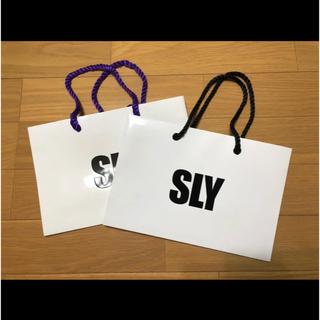 スライ(SLY)のSLY ショッパー スライ(ショップ袋)