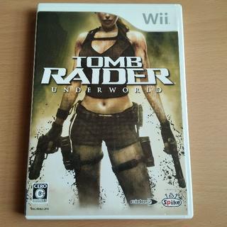 ウィー(Wii)のWii トゥームレイダー アンダーワールド(家庭用ゲームソフト)