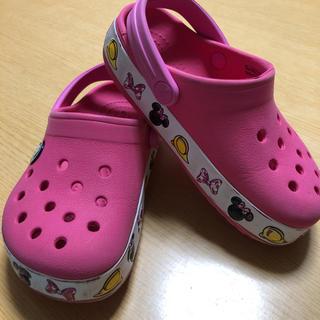 クロックス(crocs)の【CROCS】ミニーちゃん サンダル 16.5cm(サンダル)