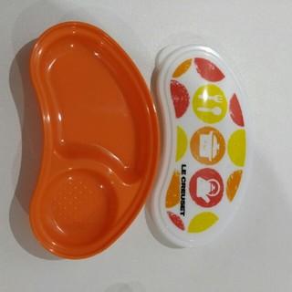 ルクルーゼ(LE CREUSET)の【新品未使用】ルクルーゼ離乳食セット(離乳食器セット)