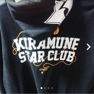 Kiramune STAR CLUB 公式 パーカー 黒 Lサイズ(その他)