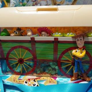 ディズニー(Disney)のピクサープレイタイム トイストーリー ポップコーンバケット(キャラクターグッズ)