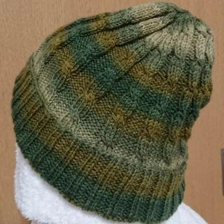グラデーション帽子(帽子)