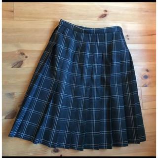 コシノジュンコ(JUNKO KOSHINO)のチェックスカート プリーツスカート(衣装)