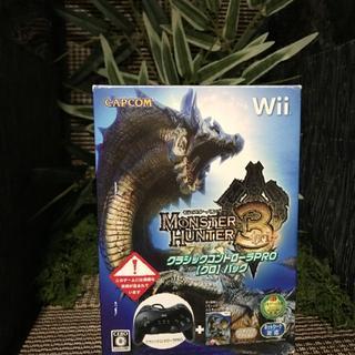 カプコン(CAPCOM)のモンスターハンター3トライWii(家庭用ゲームソフト)